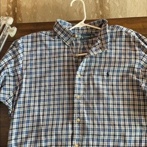 Polo Large Long Sleeve Button down